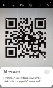 QR-Code Beispiel
